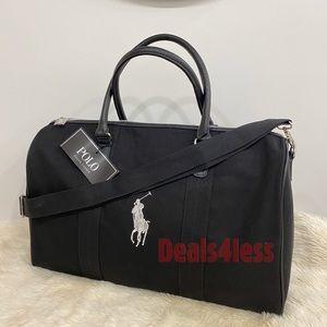 Polo Ralph Lauren Duffel Bag Weekender Travel NEW